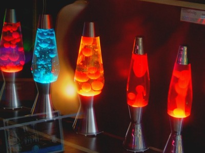 Make Your own Lava Lamp at Home!!! (First Video)