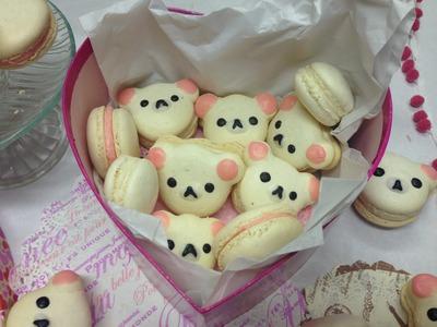 Making A Sweet Valentine's Day Gift: Korilakkuma Macarons