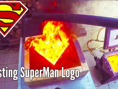 Making 'Gold' SuperMan Logo