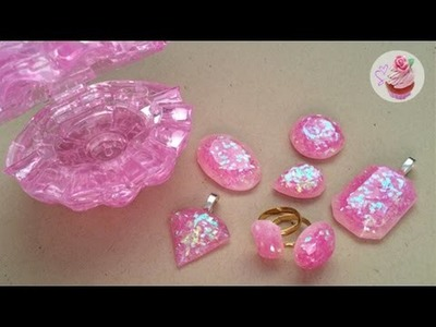 Pink gem jewellery.Breast Cancer Awareness Month ❀