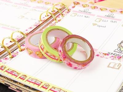 PLAN WITH ME #9 | Pink & Green Elegance | Kikki K A5 Planner