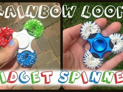 Rainbow Loom Fidget Spinner #1