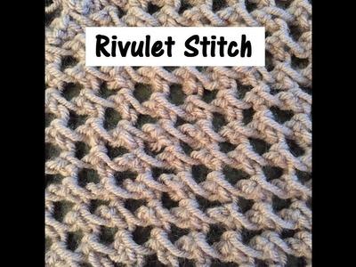 Rivulet Stitch on a Knitting Loom