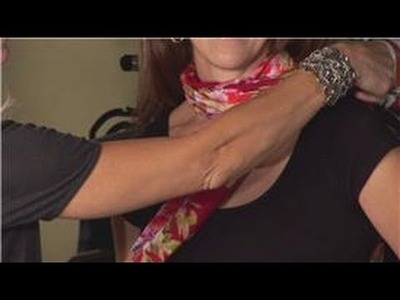 Scarf Fashion Accessories : Different Ways of Tying a Scarf