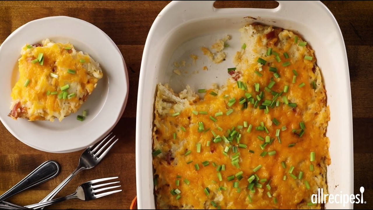 Side Dish Recipes - How to Make Loaded Crack Potatoes