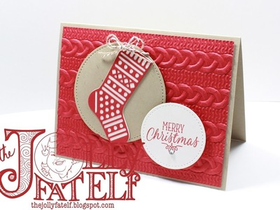 Stampin' Up! Hang Your Stocking and the New Stitched Shape Framelits