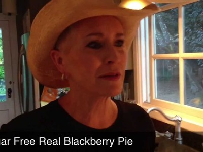 Sugar Free Real Blackberry Pie Recipe