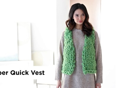 Super Quick Vest made with Wow!®