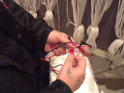 Taniko weaving tutorial Part 2