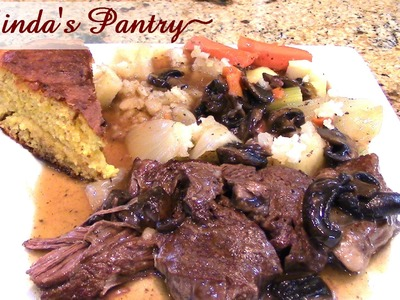 ~Tender & Easy Pot Roast In The Power Pressure Cooker XL With Linda's Pantry~