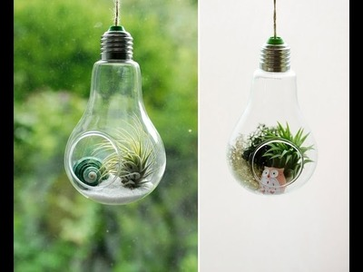 Unique crafts you can make with a lamp bulb