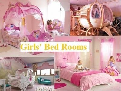100 COOL IDEAS! Cute Girls' Bed Rooms
