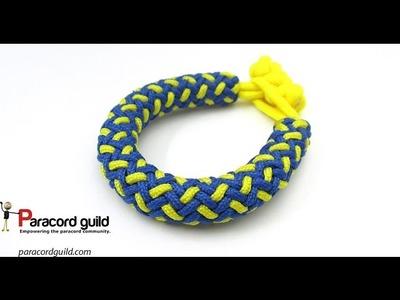 2 color hansen knot bracelet- the interweave