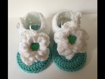 6-9 Month Flower Sandals | Video Tutorial - Step by Step Directions