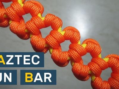 Aztec Sun Bar Paracord Bracelet without buckle
