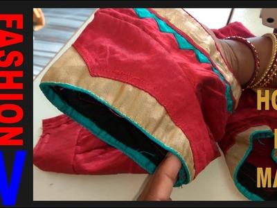 Blouse SLEEVES Designs Patterns|| Bridal blouse designer hand