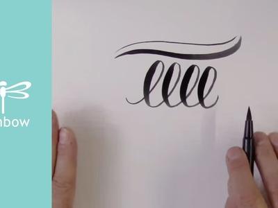 Brush Lettering for Beginners | Tombow Tips