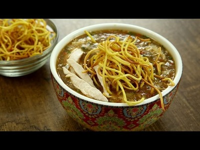 Chicken Manchow Soup Recipe | Indo Chinese Recipes | Restaurant Style Soup Recipe by Varun Inamdar