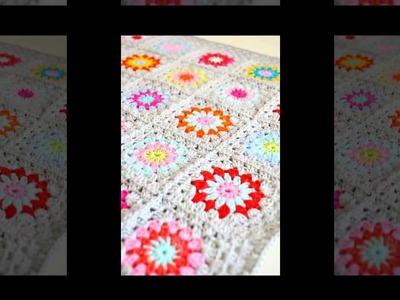 Crochet pattern for japanese flowers