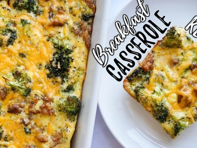 Easy Low Carb Breakfast Casserole Recipe