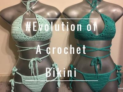 Evolution of a Crochet Bikini | Lolita Bikini Time lapse | I've been MIA
