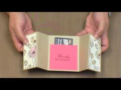 Gatefold Card - Video Tutorial - Technique Tuesday