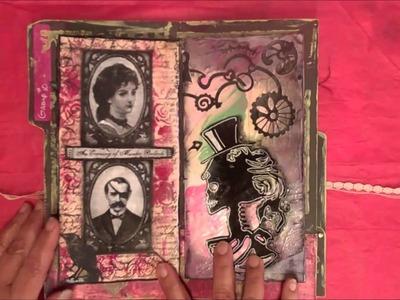 Gothic Shabby Chic Art Journal Group #10