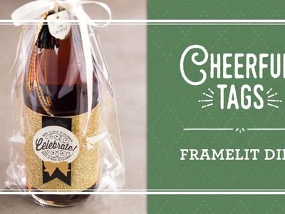 Here's to Cheers & Cheerful Tags Framelits Dies by Stampin' Up!
