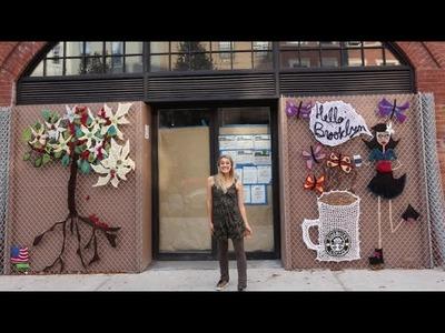 How one yarn bomber is redefining street art