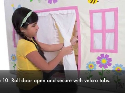 How to Assemble House Tents - Playhouse of Dreams