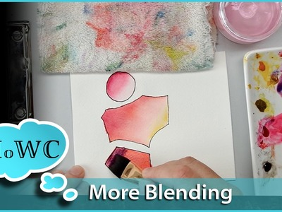 How to Blend Watercolor Paint Wet in Wet