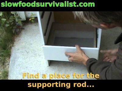 How to build a food dehydrator for less than 30€.$