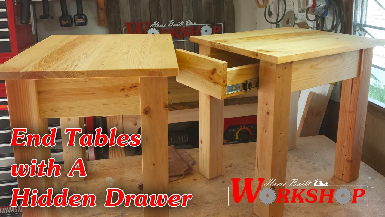 How to build a pair of End Tables