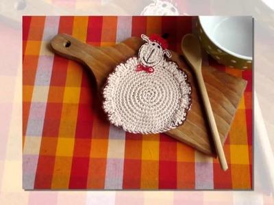 How to crochet a oven mitt