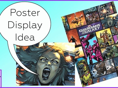 How to Display Your Posters, Easily Swap Them Around, & Not Damage Your Walls