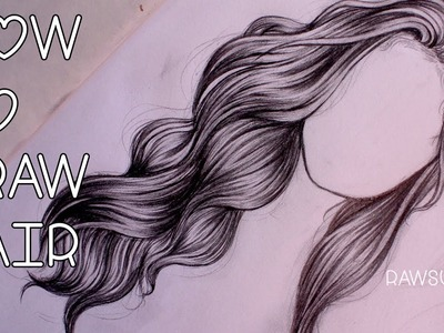 How to Draw Hair | Step by Step by Christina Lorre ♡