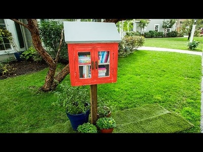 How To - Ken Wingard's DIY Neighborhood Lending Library - Hallmark Channel