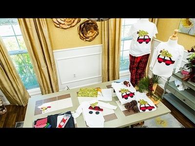 How to - Ken Wingard's DIY Christmas Tree PJs - Hallmark Channel
