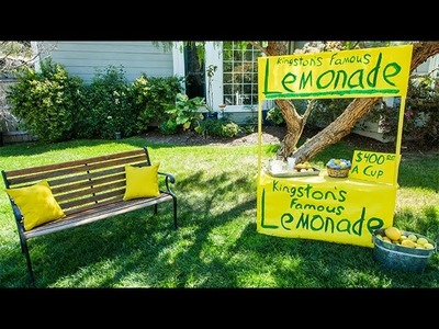 How To - Kristin Smith's DIY Lemonade Stand - Hallmark Channel