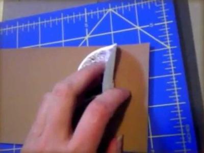 How to make a Book of Shadows, family album or art portfolio book - Lesson 4 (decal)