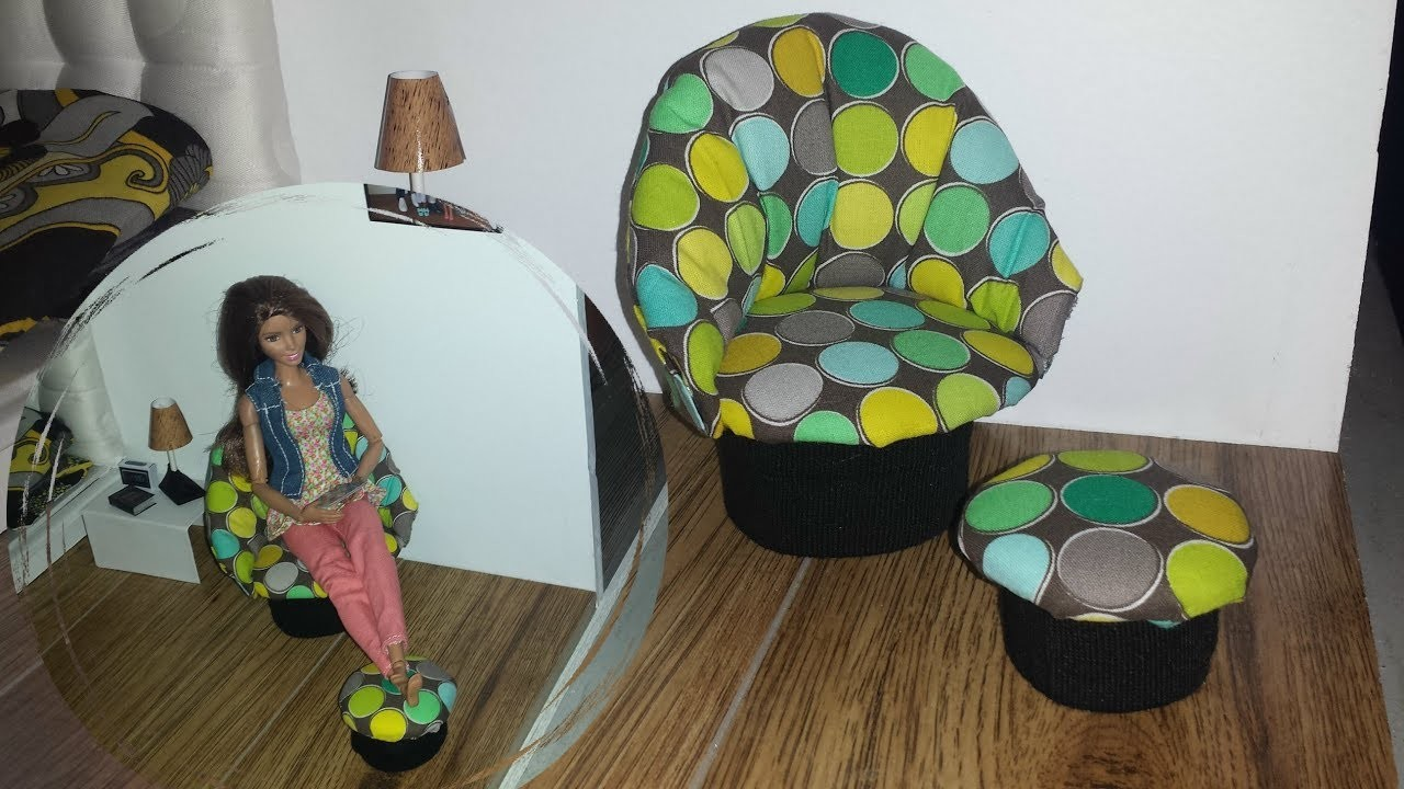 How to make a Doll Lounge Chair