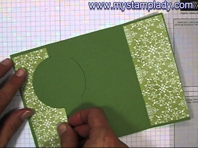 How To Make the Extended Circle Flip Card