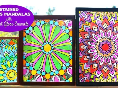 HOW TO: Mandala Stained Glass