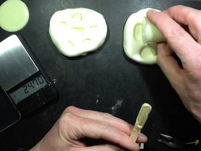 How to mould glow in the dark pebbles.