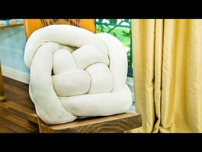 How To - Orly Shani's DIY Knot Pillows - Hallmark Channel