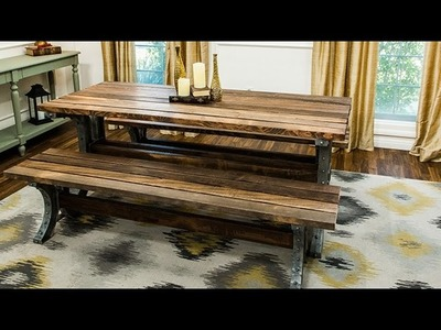 How To - Paige Hemmis' DIY Dinning Picnic Table - Hallmark Channel