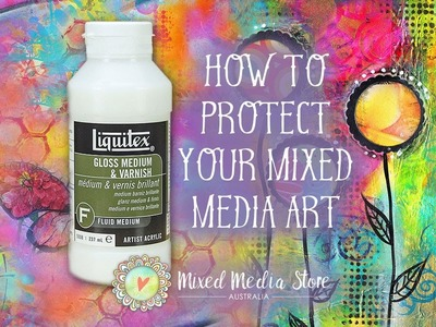 How to protect your mixed media art tags & paintings | Mimi Bondi