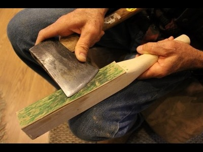 How to Sharpen an Axe Using The Homestead Box