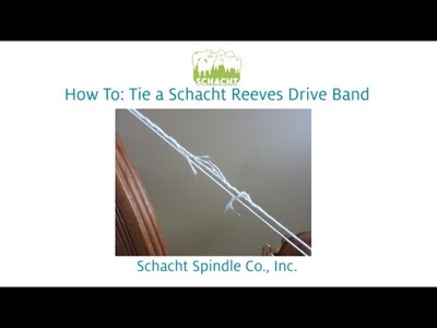 How to Tie a Schacht Reeves Drive Band