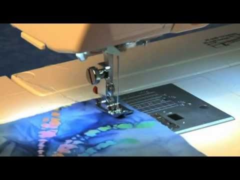 How to use Janome Straight Stitch Needle Plate with Straight Stitch foot